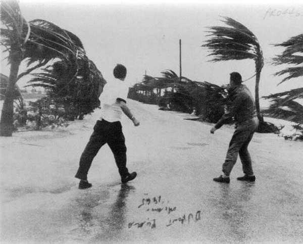 Huracán Betsy en Miami (Florida) en 1965
