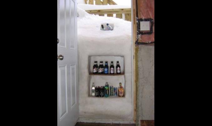 Cariño ... ¿has metido las cervezas en la nevera? ... Buffalo, Nueva York