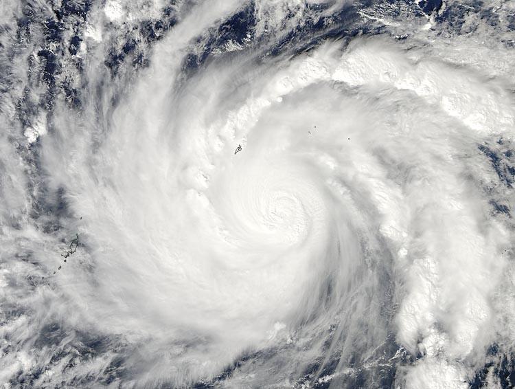 Tifón Hagupit, 3 de diciembre de 2014