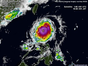 Noul llega a Filipinas como súper tifón