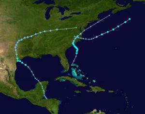 Menos huracanes en el Atlántico
